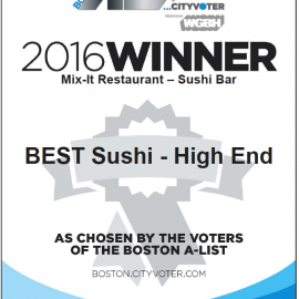 Best Sushi – High End on Boston A-List